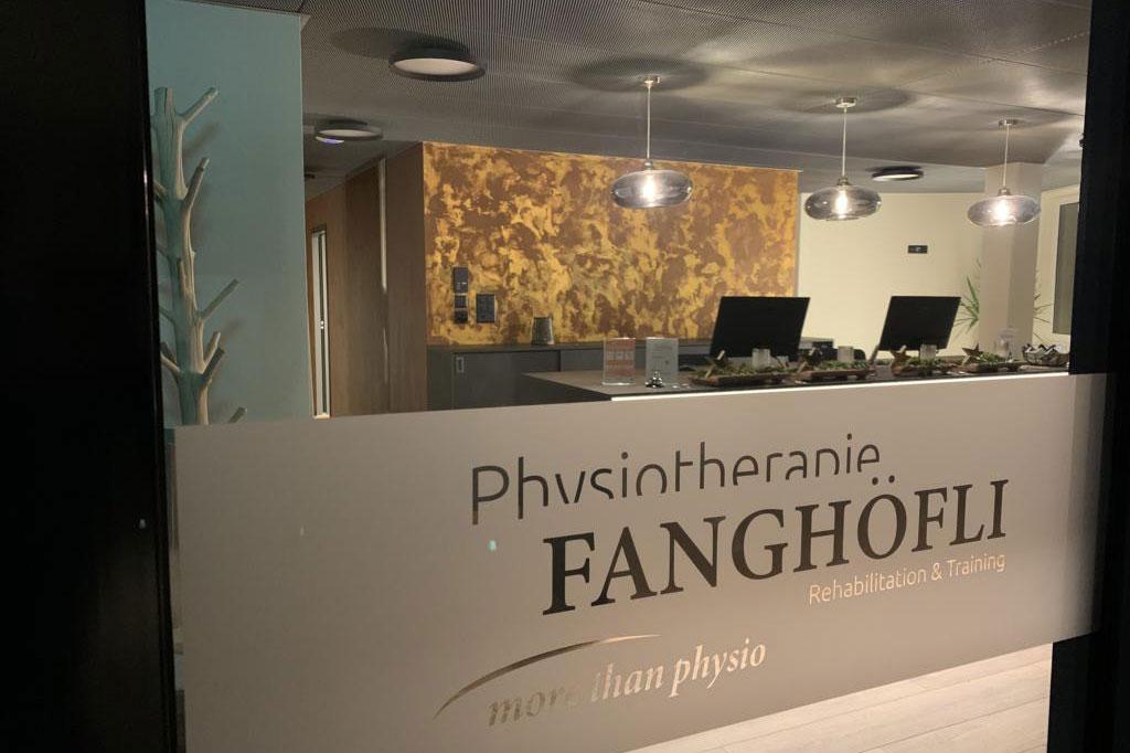 Physiotherapie-Fanghoefli-Empfangstheke